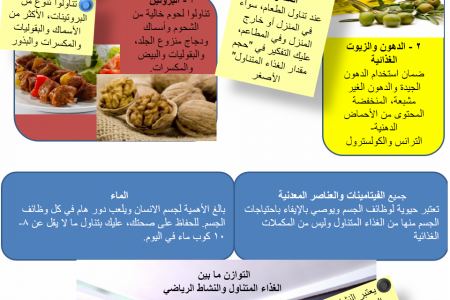 Healthy Balanced diet Infographic