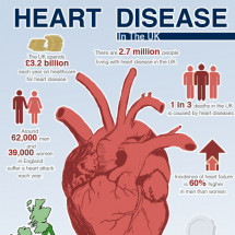 Heart Disease in the UK Infographic