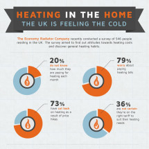 Heating in the Home Infographic