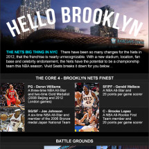 Hello Brooklyn: What's New With The Nets Infographic