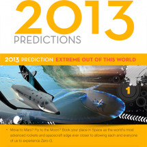 Highlights of 2012 & Predictions for 2013 Infographic