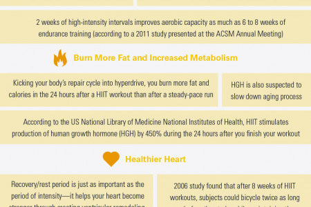 HIIT Craze: The Good, The Bad and The Ugly Infographic