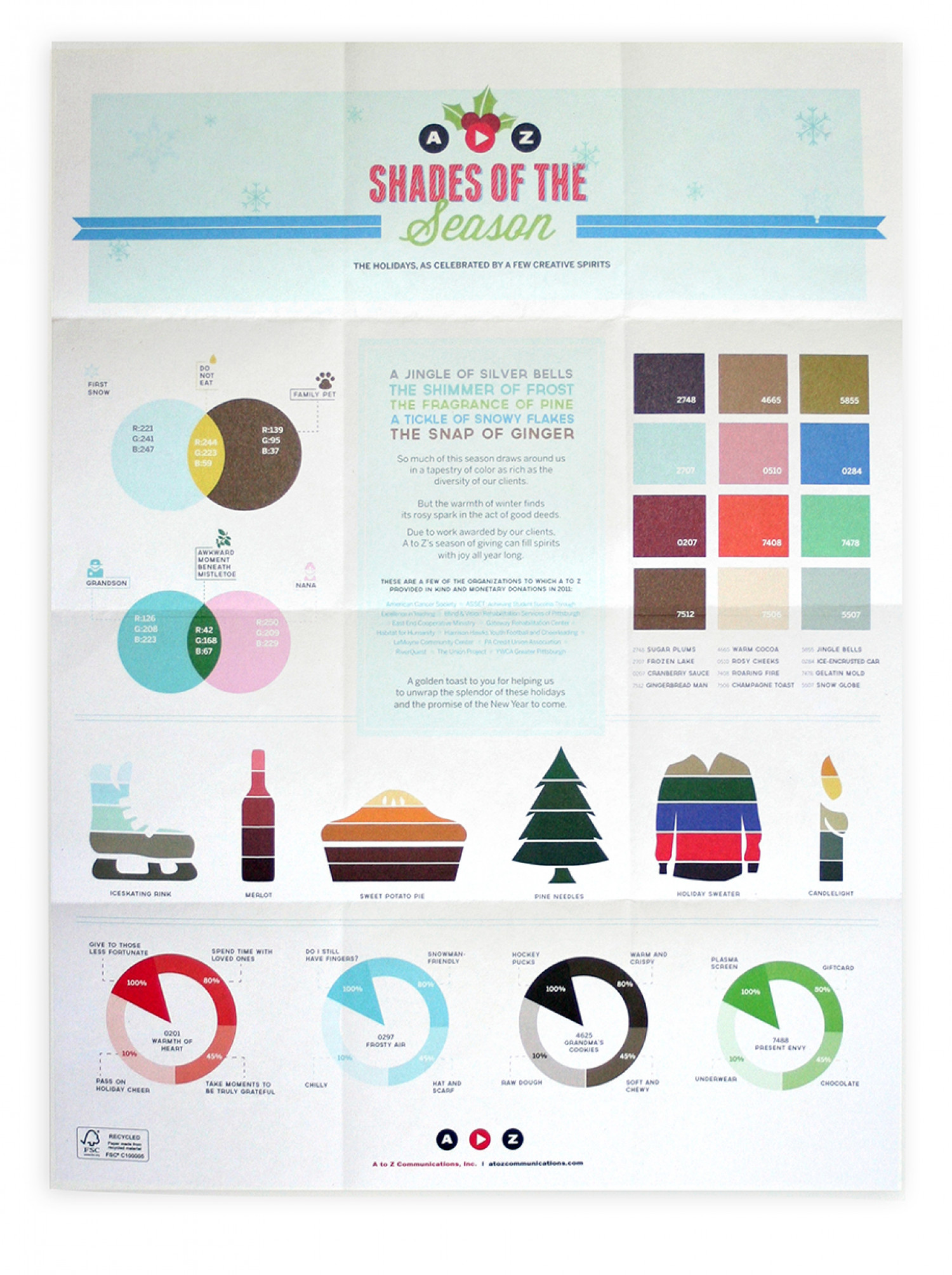 Holiday Card - Agency Infographic