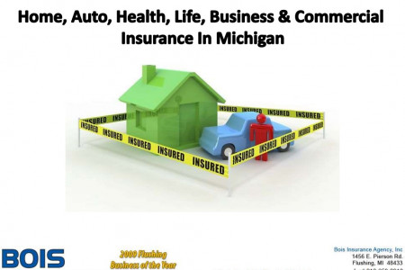 Home, Auto, Health, Life, Business & Commercial Insurance In MIchigan Infographic