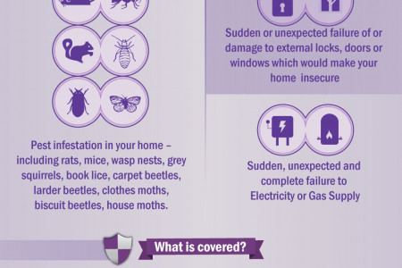 Home Insurance Add-Ons - Home Emergency Cover Infographic