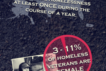 Homeless Veterans Infographic