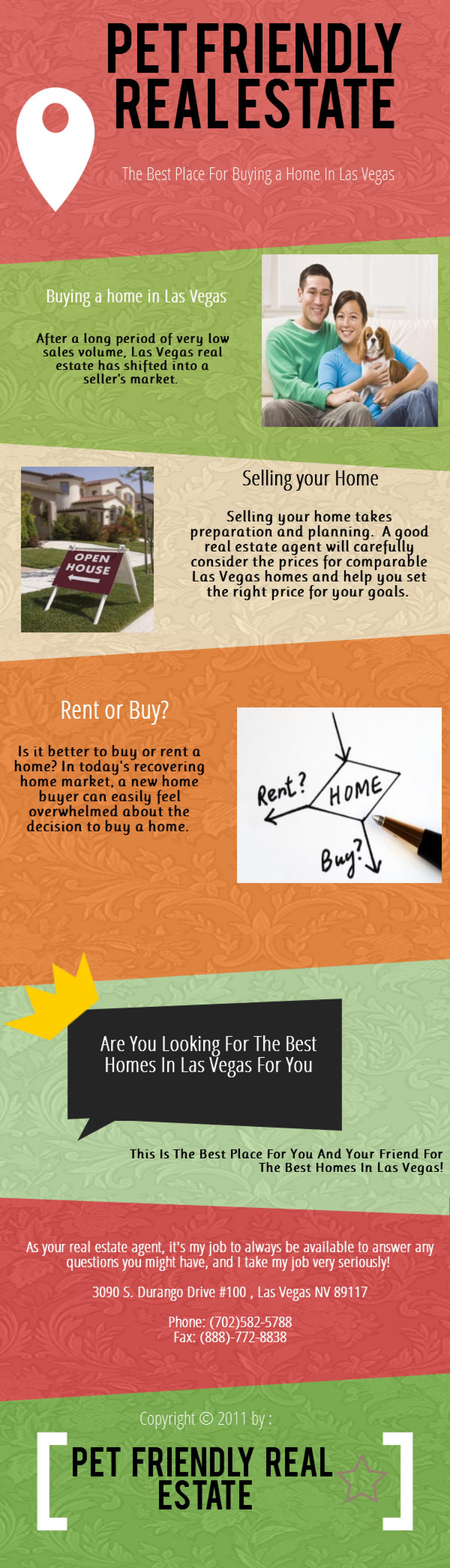 Homes For Sale In Las Vegas Infographic