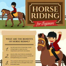 Horse Riding For Beginners Infographic
