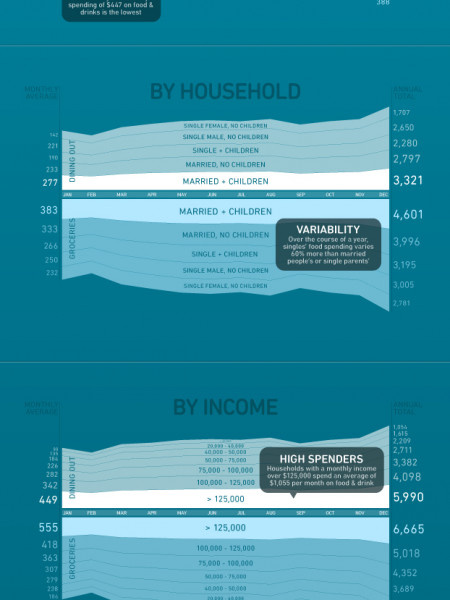 How America Spends  Infographic