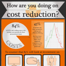 How are you doing on Cost Reduction Infographic