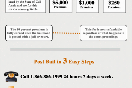 How Bail Bonds Work and Why do I Need It? Infographic