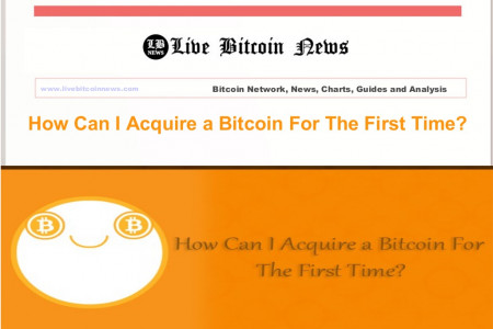 How Can I Acquire a Bitcoin For The First Time? Infographic