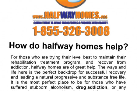 How do Halfway Homes Help? Infographic