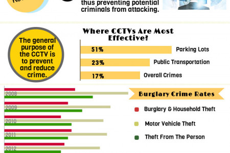 How Does CCTV Prevent Crime? Infographic