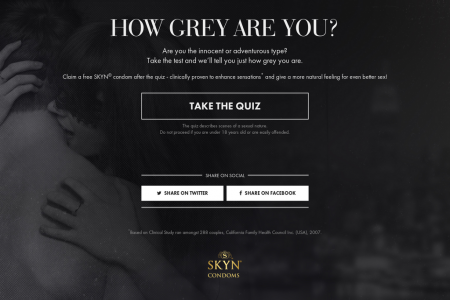 How Grey Are You? Infographic