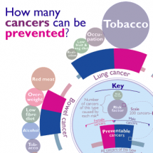 How Many Cancers Can be Prevented? Infographic