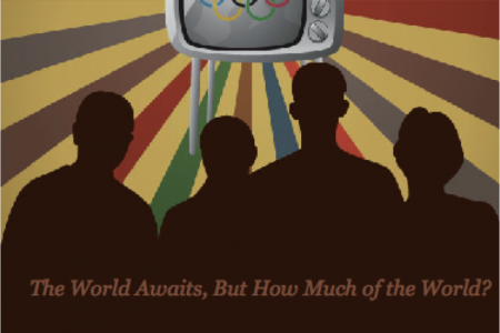 How Many Watch the Olympics? Infographic