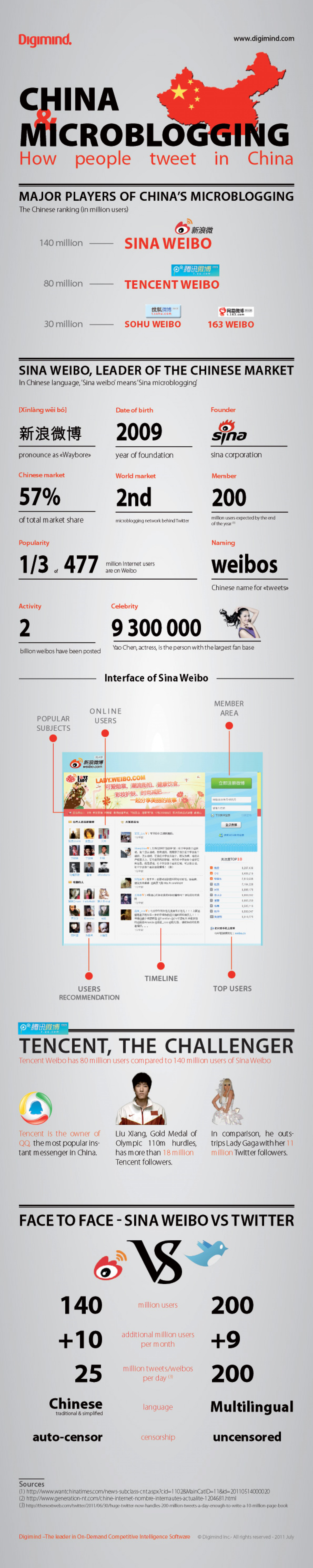 "How People ""Tweet"" in China Infographic"