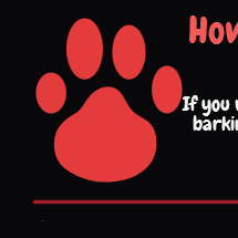 How Spray Bark Collar Works Infographic