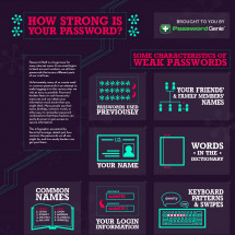 How Strong is Your Password? Infographic