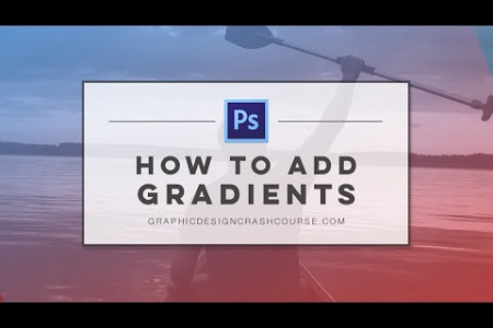 How to Add Gradients to Images in Adobe Photoshop  Infographic
