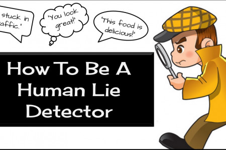 How To Be A Human Lie Detector Infographic