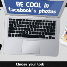 How to be cool in Facebook's photos Infographic