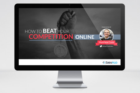 How To Beat Your Competition Online Infographic