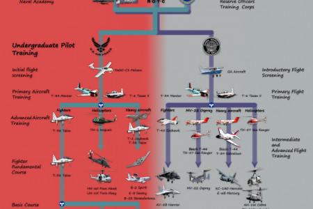 How to become a fighter pilot in the USA? Infographic