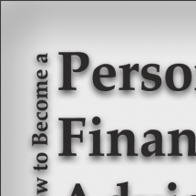 How to Become a Personal Financial Advisor Infographic