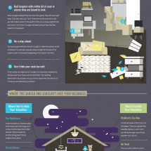 How To Burglar Proof Your Stash Of Cash Infographic
