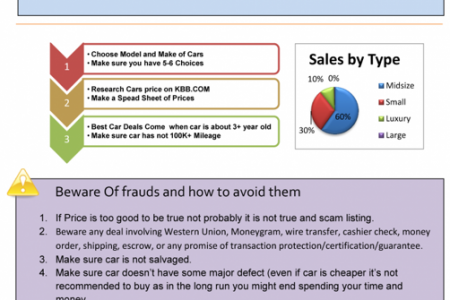 How to buy cars from Craigslist and Avoid getting Scammed Infographic