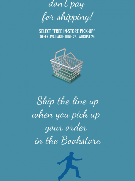 How to Bypass the Bookstore Line up Infographic