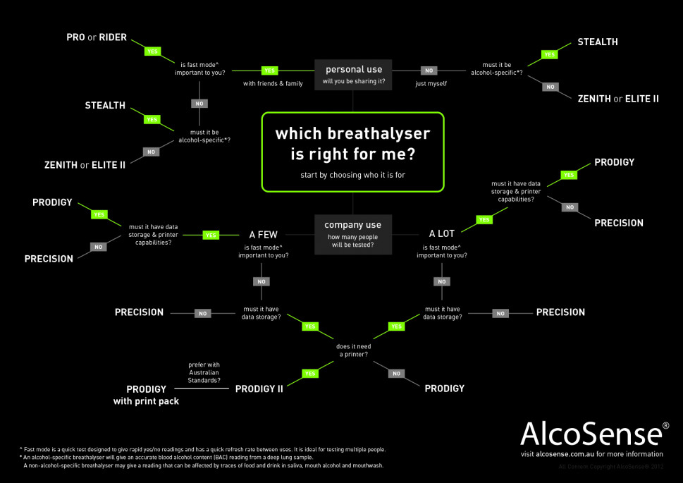 How to Choose a Breathalyzer Infographic