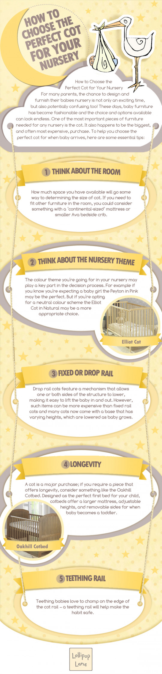How To Choose The Perfect Cot For Your Nursery