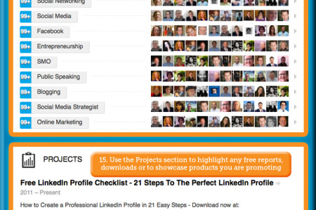 How to Create a Kick-Ass LinkedIn Profile  Infographic