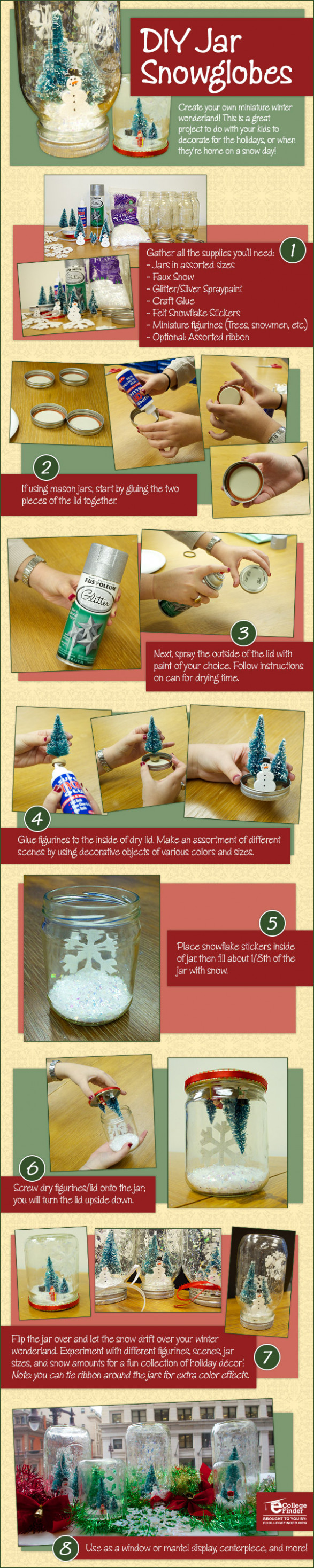 How to Create DIY Snowglobes