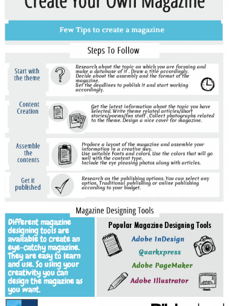How To Create Your Own Magazine Infographic