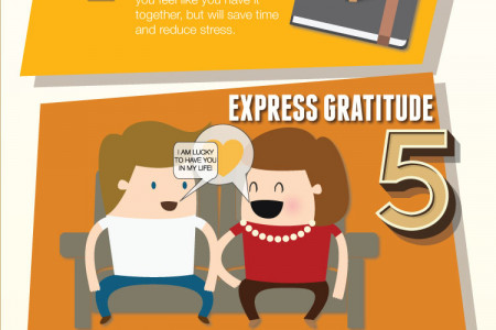 How to Deal with Holiday Stress Infographic