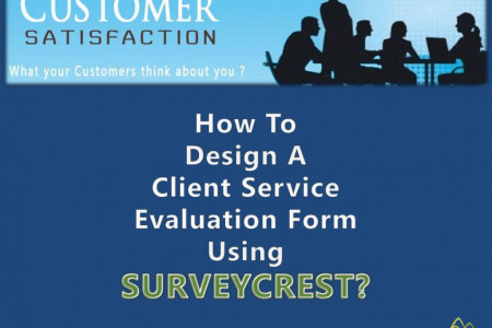 How To Design A Client Service Evaluation Form? Infographic