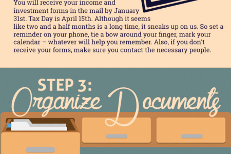 How to File Taxes Infographic