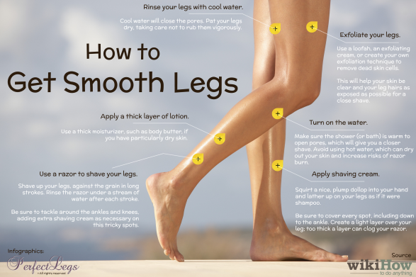 How to Get Smooth Legs: 6 Steps