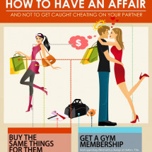 How To Have An Affair And Not Get Caught Cheating (Infographic) Infographic