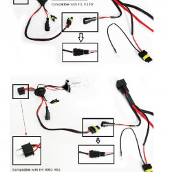 Hella Wiring Diagram Rallye 4000 further 321185527345 also H4 Wiring Harness 4 Headlights also Hella 500 Hid Wiring also 181555827059. on relay wiring harness hid kit