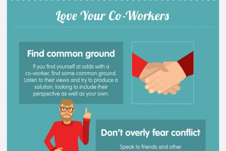 How To Love Your Job Infographic