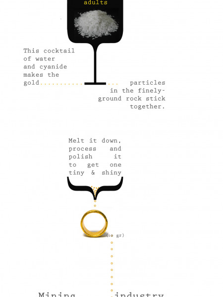 How to make a 10 gram golden ring Infographic