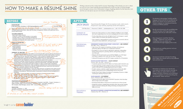 How to Make a Résumé Shine