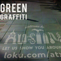 How to Make Green Graffiti Infographic