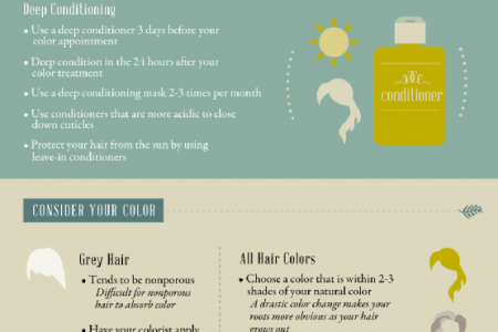 How to Make Your Hair Color Last Infographic