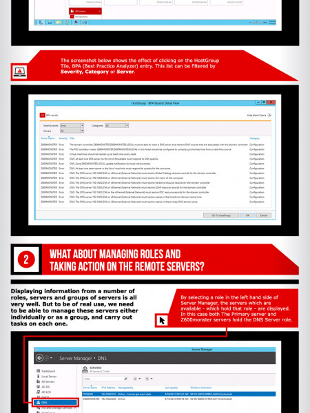 How to Manage Multiple Servers in Windows Server 2012 Infographic